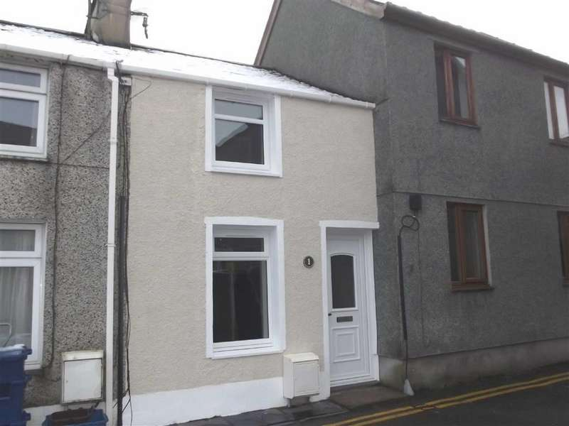 2 Bedrooms Terraced House for sale in Chandlers Place, Porthmadog