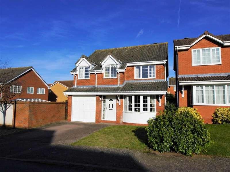 4 Bedrooms Detached House for sale in 36 Edwin Panks Road, Hadleigh, Ipswich, Suffolk, IP7 5JL