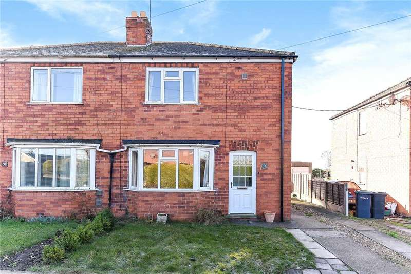 3 Bedrooms Semi Detached House for sale in College Road, Cranwell Village, NG34