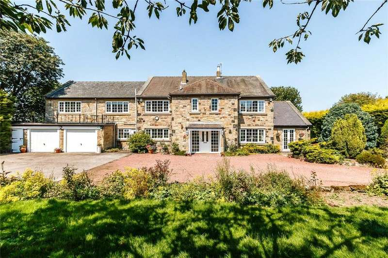 5 Bedrooms Detached House for sale in Longhorsley, Morpeth, Northumberland