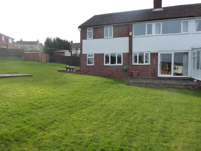 4 Bedrooms Semi Detached House for sale in St Michaels Close, Thornhill