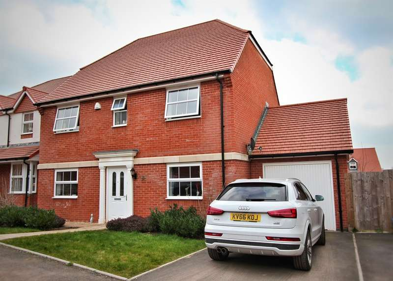 4 Bedrooms Detached House for sale in Ash Tree View, Newport