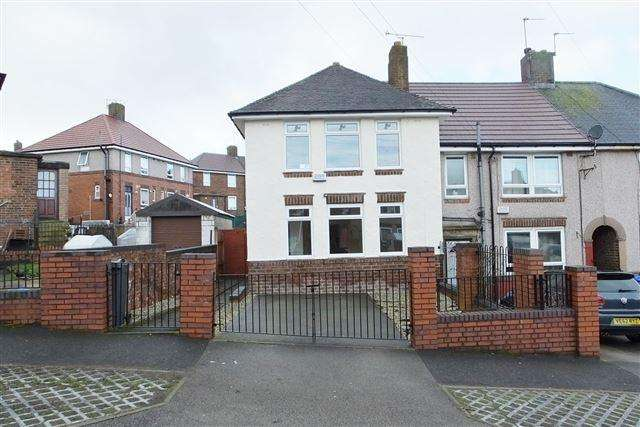 3 Bedrooms End Of Terrace House for sale in Arbourthorne Road, Sheffield, S2 2FJ