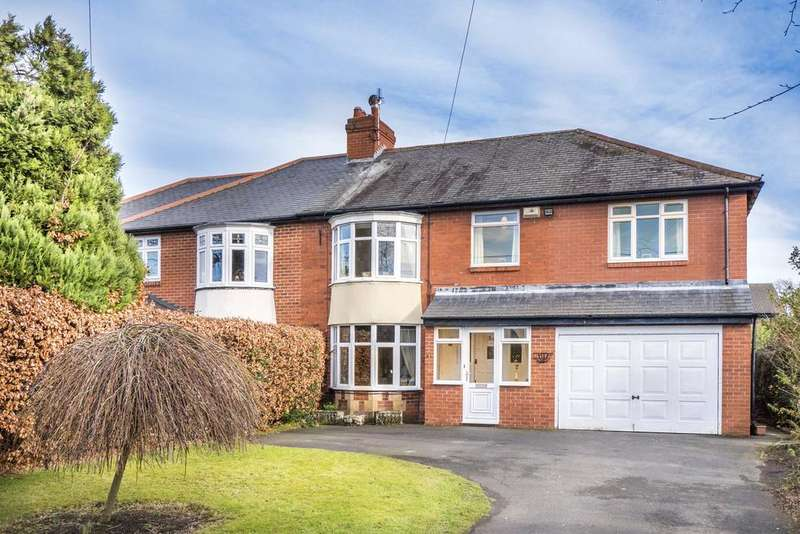 5 Bedrooms Semi Detached House for sale in Whickham