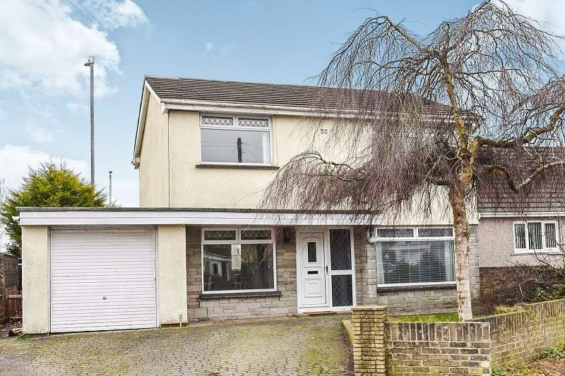 4 Bedrooms Detached House for sale in St Marys View, Coychurch, Bridgend. CF35 5HL