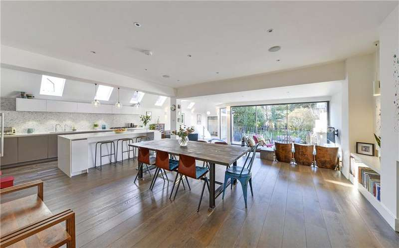 5 Bedrooms Semi Detached House for sale in Mount Pleasant Road, Queen's Park, London, NW10