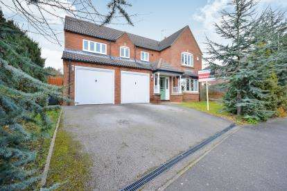 5 Bedrooms Detached House for sale in Oak View Rise, Harlow Wood, Mansfield, Notts