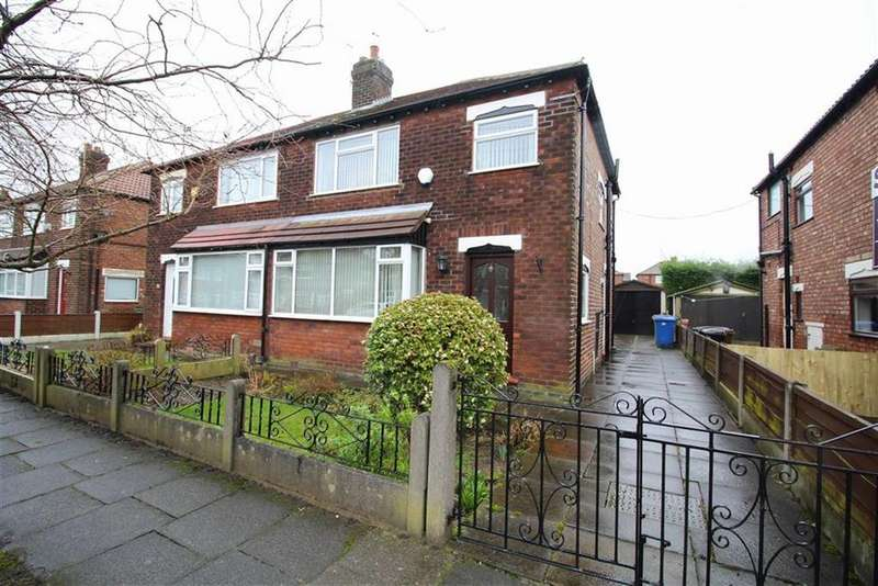 3 Bedrooms Semi Detached House for sale in Wordsworth Road, Reddish, Stockport