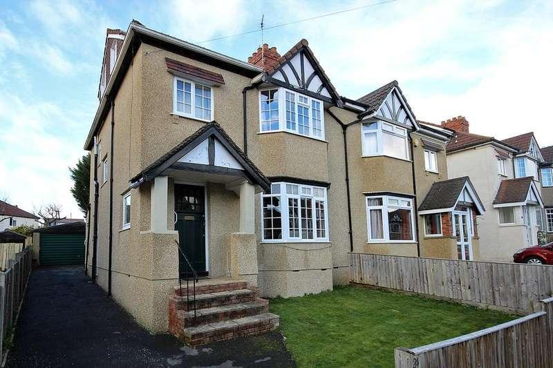 4 Bedrooms Semi Detached House for sale in Wellington Walk, Westbury-On-Trym, Bristol, BS10