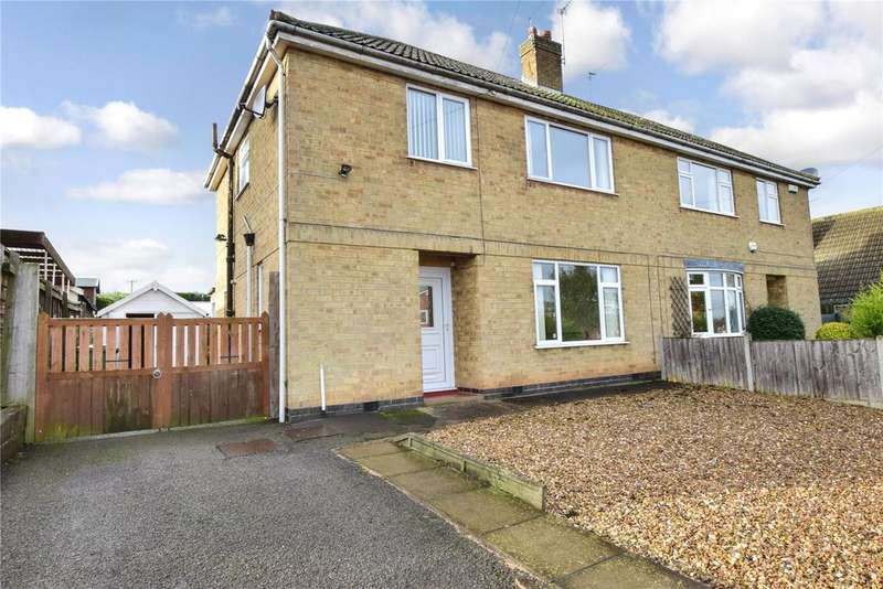 3 Bedrooms Semi Detached House for sale in Piper Drive, Long Whatton, Loughborough
