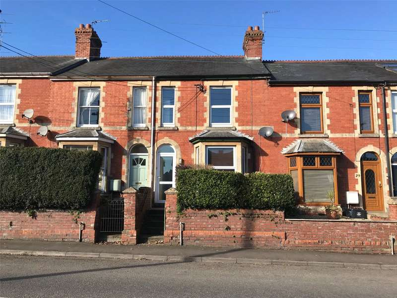 3 Bedrooms Terraced House for sale in Furnham Road, Chard, Somerset, TA20