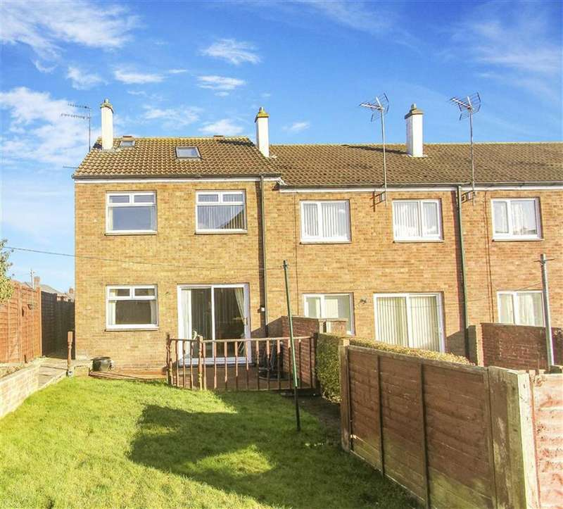 3 Bedrooms Terraced House for sale in Cornhill Estate, Alnwick, Northumberland