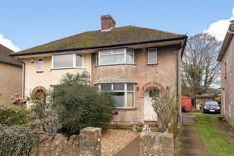 3 Bedrooms Semi Detached House for sale in Stanway Road, Headington