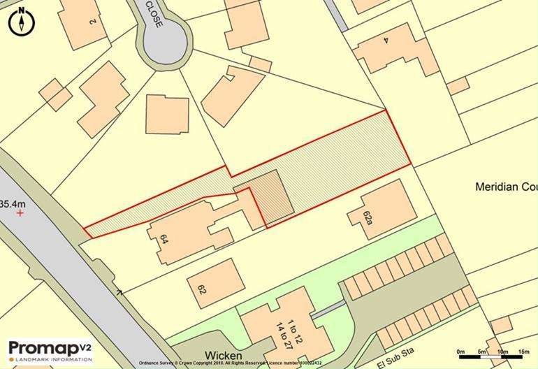 Plot Commercial for sale in Land Rear of 64, London Road, Maidstone, Kent, ME16 8QL