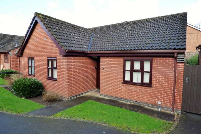 2 Bedrooms Terraced Bungalow for sale in Holly Green, Burton-on-Trent