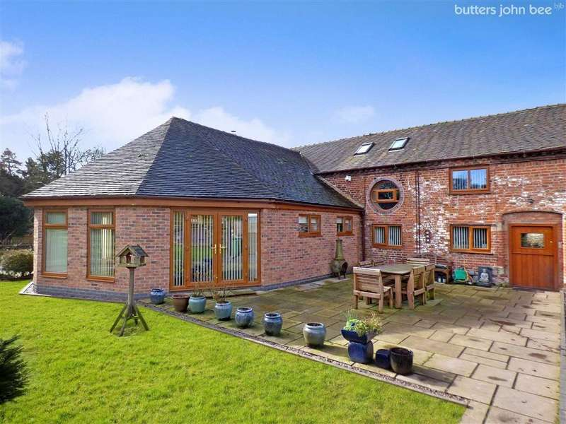 11 Bedrooms Barn Conversion Character Property for sale in Home Farm Buildings, Swynnerton, Staffordshire
