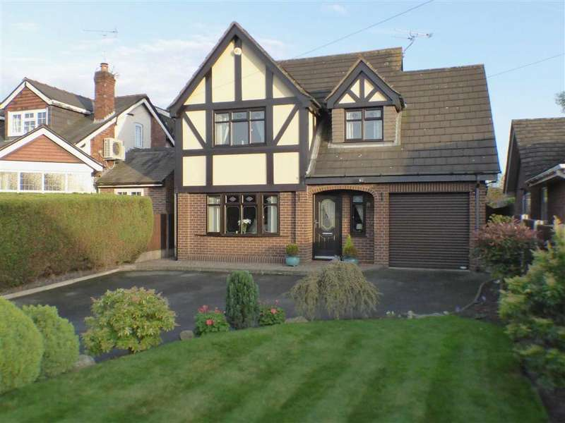 3 Bedrooms Detached House for sale in Vicarage Lane, Elworth, Sandbach