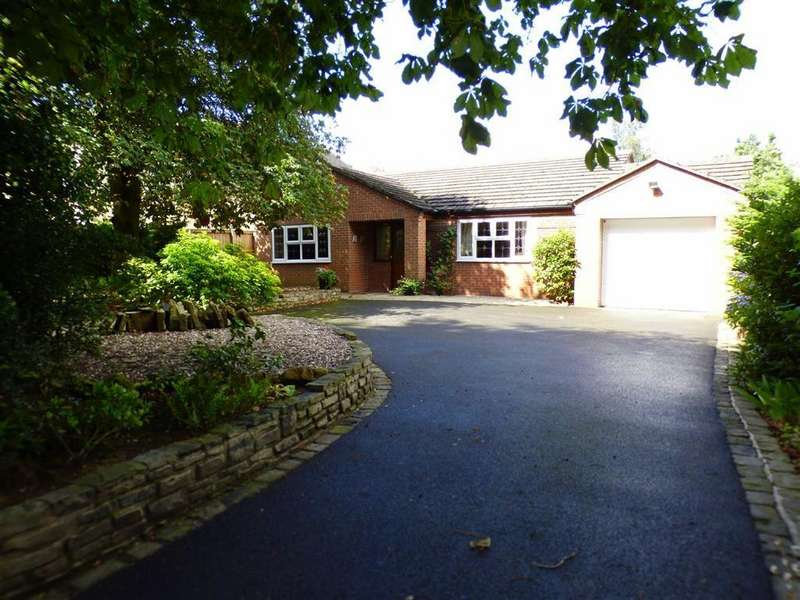 3 Bedrooms Detached Bungalow for sale in Cross Road, Haslington