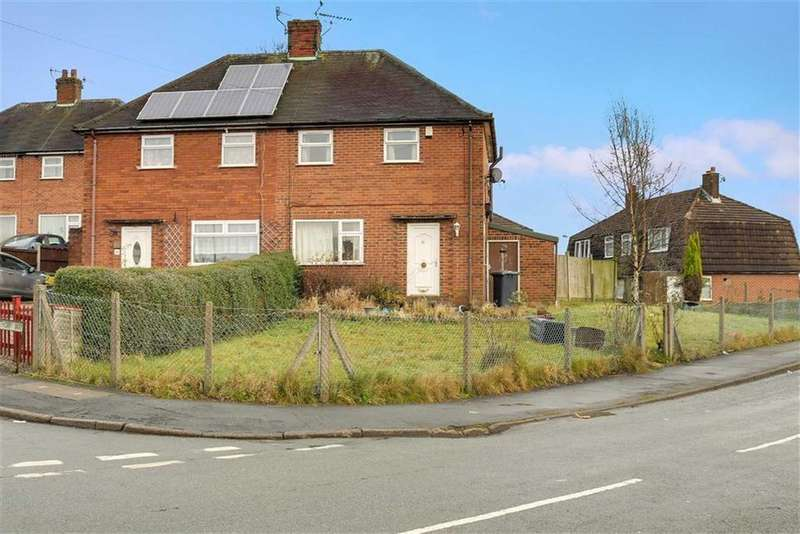 2 Bedrooms Semi Detached House for sale in Whitethorn Way, Chesterton, Newcastle-under-Lyme