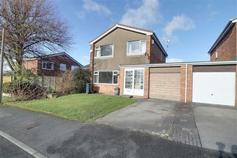 3 Bedrooms Detached House for sale in Carmarthen Close, Winsford, Cheshire
