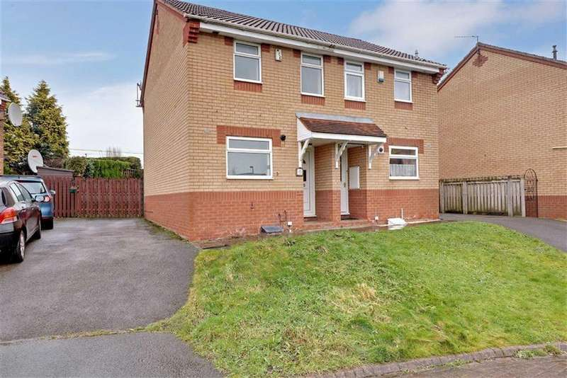 2 Bedrooms Semi Detached House for sale in Orton Close, Winsford, Cheshire