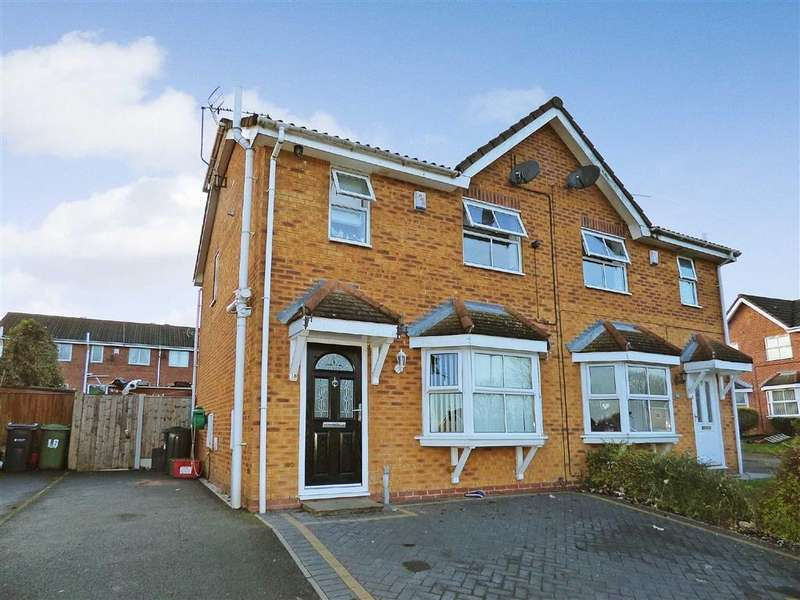 3 Bedrooms Semi Detached House for sale in Coningsby Drive, Winsford, Cheshire