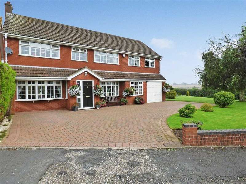 5 Bedrooms Detached House for sale in Moor Close, Acton Trussell, Stafford