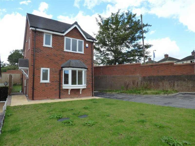 3 Bedrooms Detached House for sale in Hurst Close, Talke Pits, Stoke-on-Trent