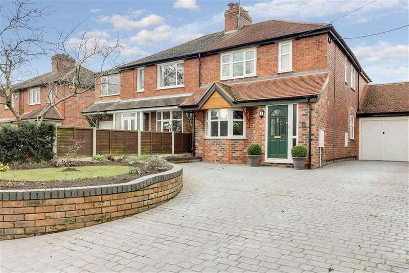 3 Bedrooms Semi Detached House for sale in Cross Lane, Winterley, Sandbach