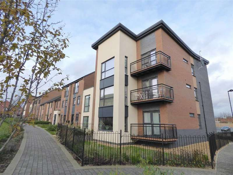 2 Bedrooms Apartment Flat for sale in Norville Drive, Johnsons Wharf, Stoke-on-Trent