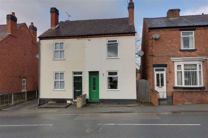 3 Bedrooms Terraced House for sale in Newhall Street, Cannock, Staffordshire