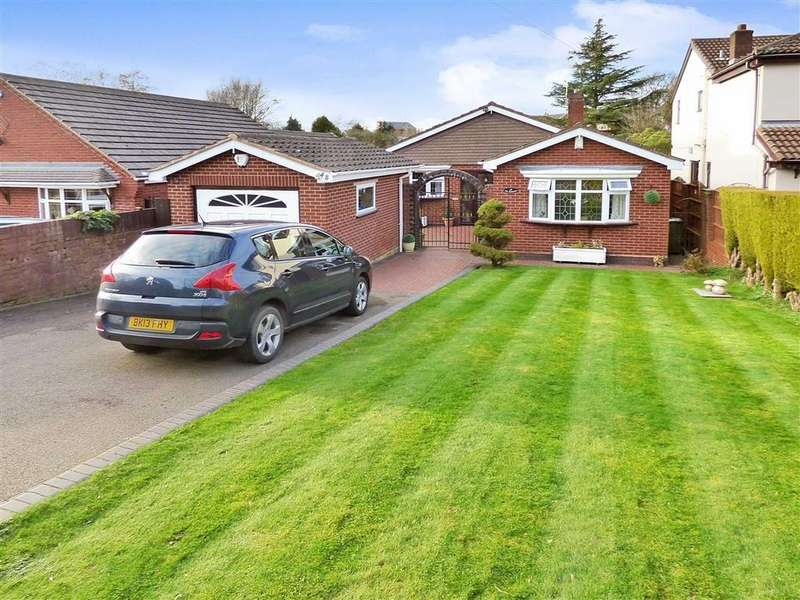 3 Bedrooms Detached Bungalow for sale in Newlands Lane, Cannock, Staffordshire