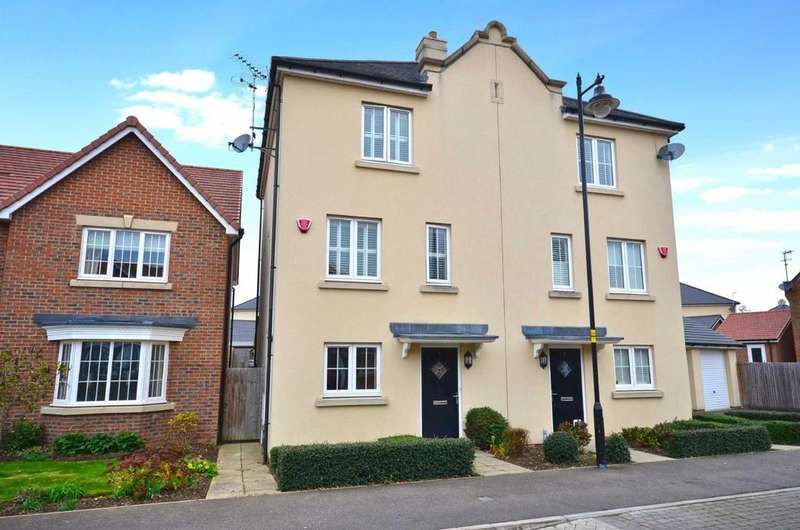 4 Bedrooms Semi Detached House for sale in Pevensey Way, Croxley Green, Hertfordshire, WD3