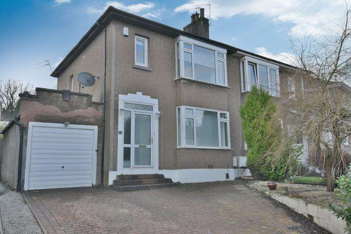 3 Bedrooms Semi Detached House for sale in 55 Iain Road, Bearsden, G61 4PB