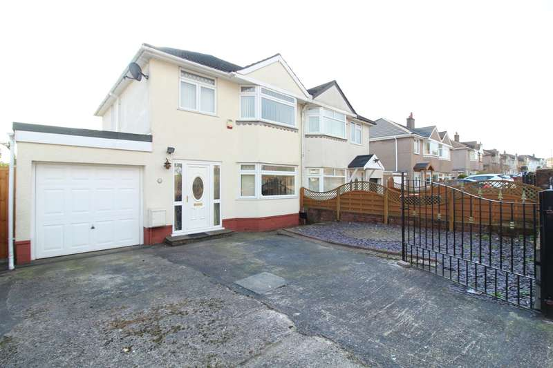3 Bedrooms Semi Detached House for sale in Aberthaw Road, Newport, NP19