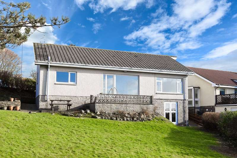 4 Bedrooms Detached Bungalow for sale in Bramhall, East Cliff, Portpatrick, Stranraer, Dumfries and Galloway, DG9