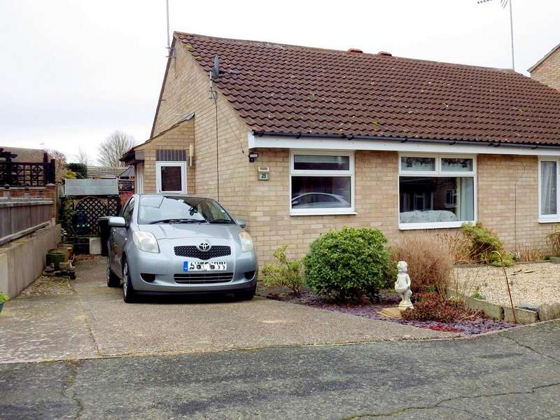 2 Bedrooms Semi Detached Bungalow for sale in Anderson Close, Stowmarket IP6