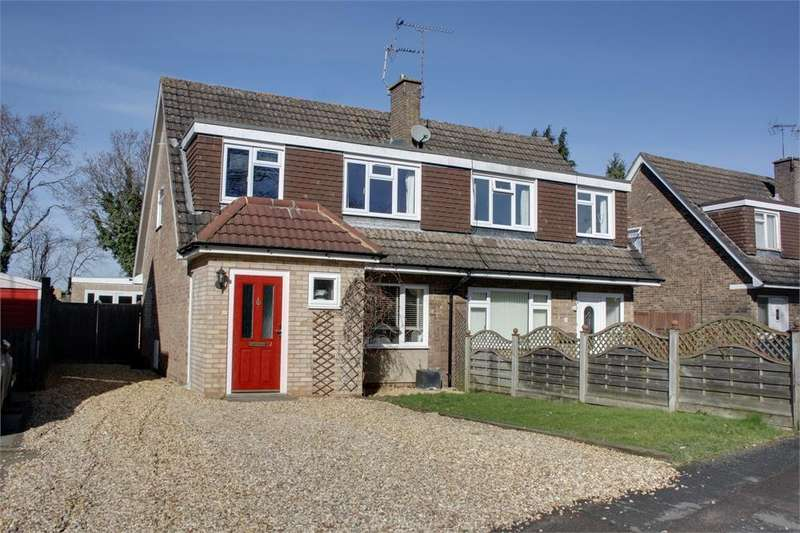 3 Bedrooms Semi Detached House for sale in Riverdale, Wrecclesham, Farnham, Surrey