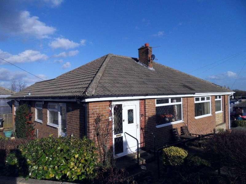 2 Bedrooms Semi Detached Bungalow for sale in Squirrel Walk, Dewsbury, West Yorkshire, WF13