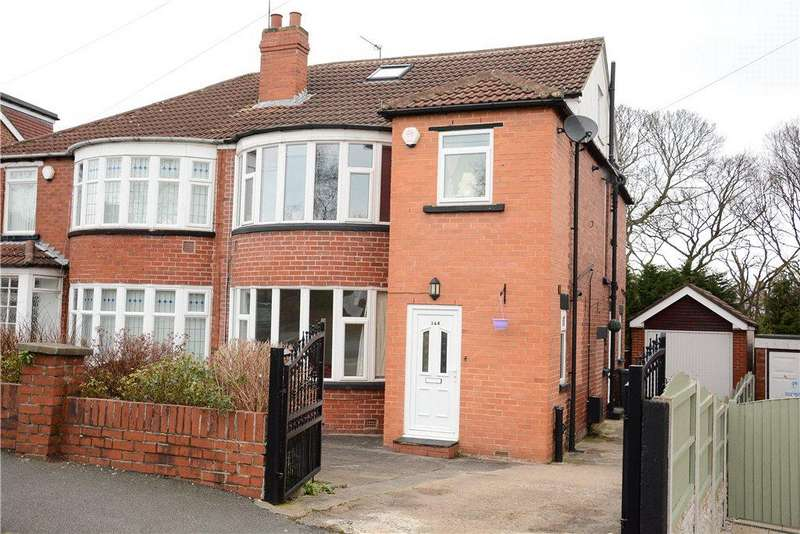 4 Bedrooms Semi Detached House for sale in West Park Drive West, Roundhay, Leeds