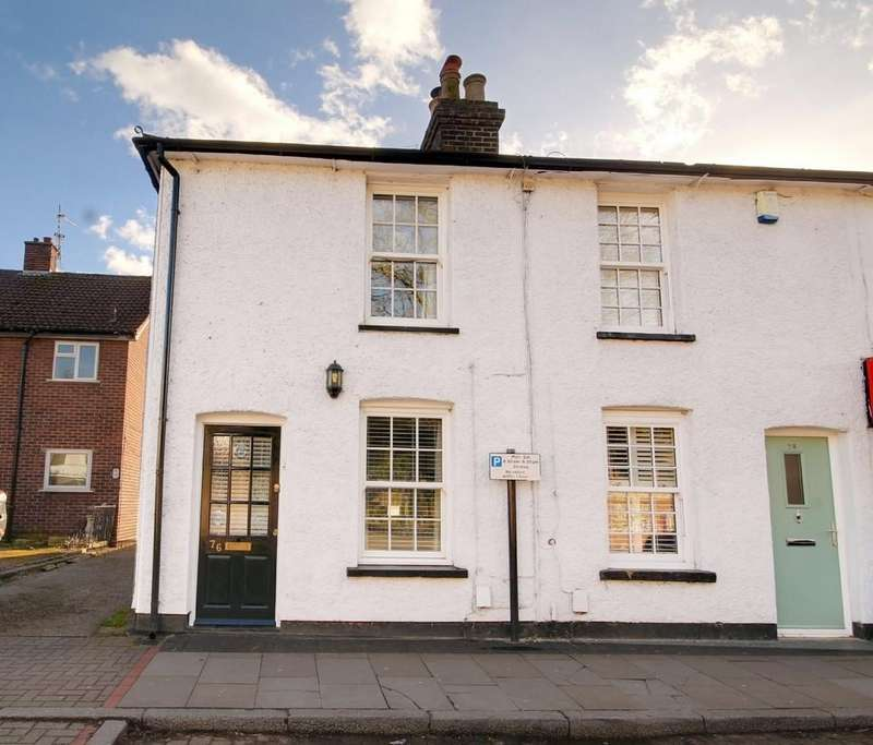 2 Bedrooms Cottage House for sale in High Street, Stanstead Abbotts