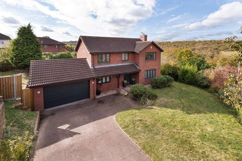 4 Bedrooms Detached House for sale in Barleymow Close, Chatham, ME5
