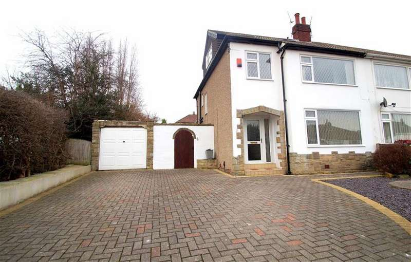 4 Bedrooms Semi Detached House for sale in Alan Crescent, Leeds