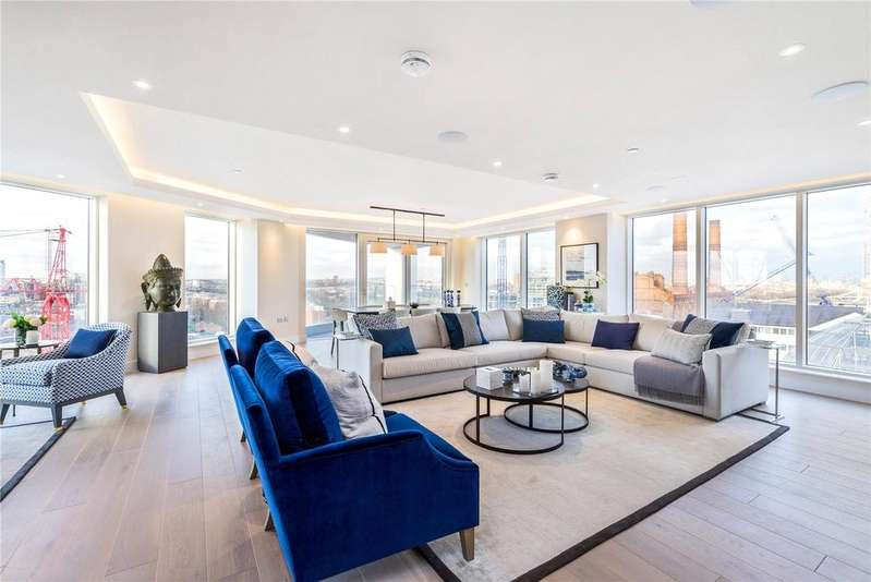 6 Bedrooms Flat for sale in The Tower, Chelsea Creek, Fulham, London, SW6