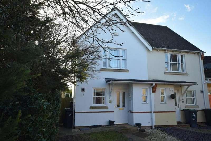 2 Bedrooms Semi Detached House for sale in Britric Close, Flitch Green, Dunmow, Essex, CM6