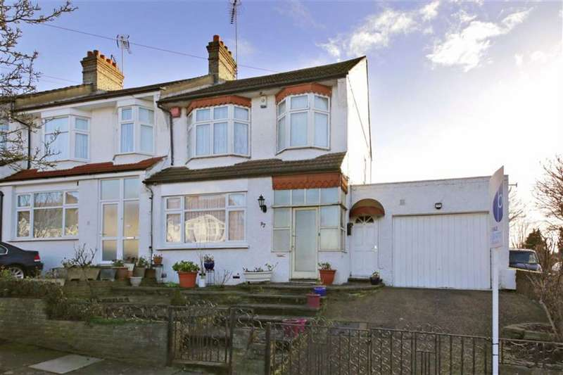 3 Bedrooms End Of Terrace House for sale in Evesham Road, Bounds Green, London
