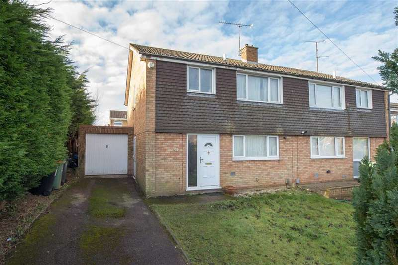 3 Bedrooms Semi Detached House for sale in Lockhart Close, Dunstable, Beds, LU6