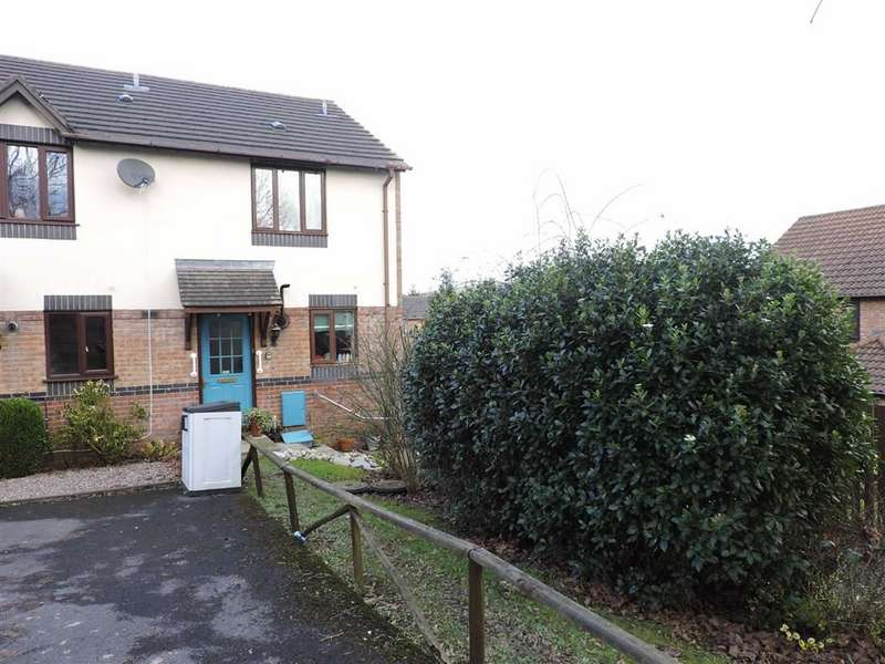 2 Bedrooms End Of Terrace House for sale in Plas Ioan, Johnstown