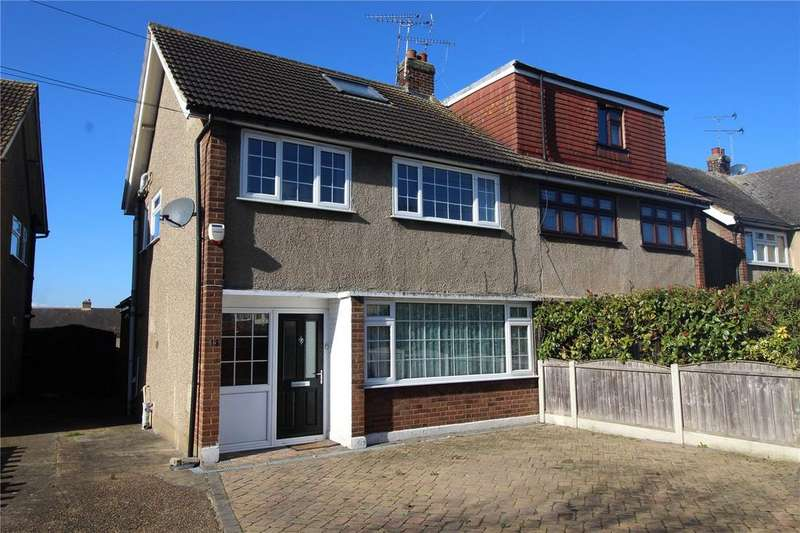 4 Bedrooms Semi Detached House for sale in Cornwall Close, Hornchurch, RM11