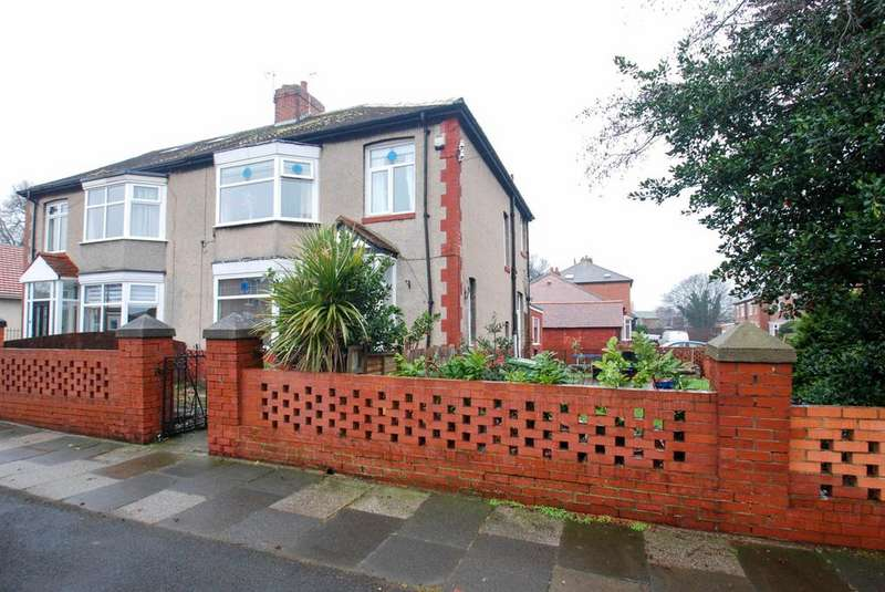 3 Bedrooms Semi Detached House for sale in St Peters Avenue, South Shields